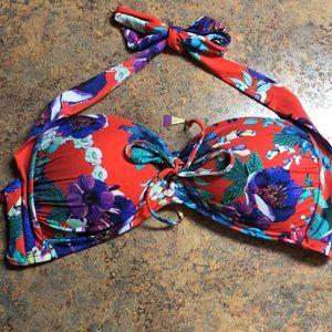 Seafolly Australia floral bikini top